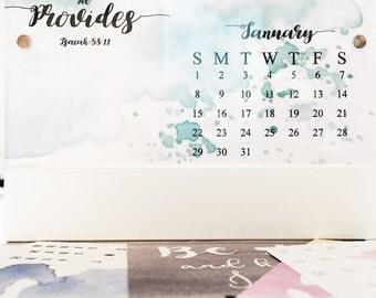 Custom Desktop Calendar
