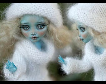 Reserved for Lisa | Monster High Repaint Art Doll OOAK –  Lagoona Blue | Snowflake | Payment 2 of 3