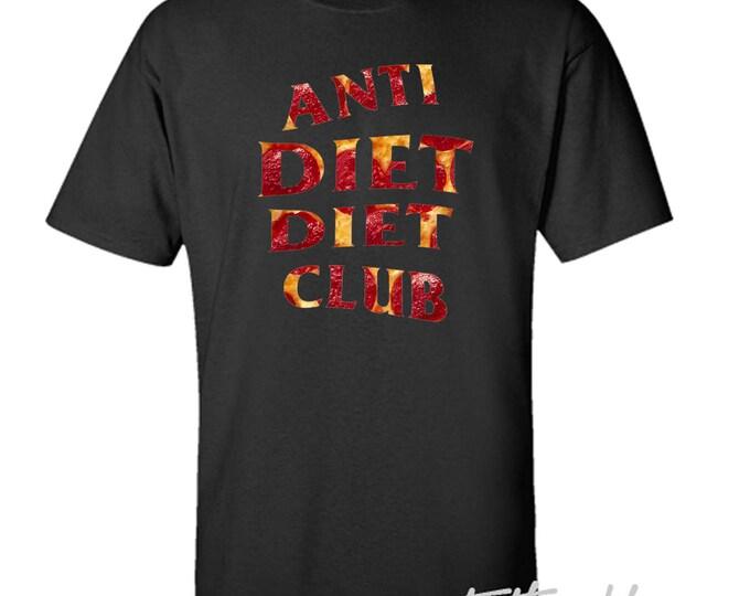 Anti Diet Diet Club Pizza T-Shirt Anti Social Social Club