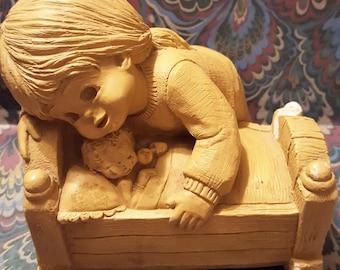 Bundle of Joy Figurine by Bill Mack Fannykins 1978