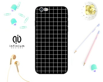 Geometric Grid Case For iPhone 7, Samsung S8, S8 Plus, S7, S7 Edge, Samsung A5, Galaxy J3, A3, A5, iPhone 7 Plus, 6S, SE, 5S & Touch 6