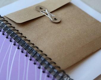 ADD-ON ENVELOPE: Keepsake string-tie Envelope - handmade - Baby Book - Baby Journal - Memory Book - Baby Album