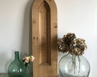 Gothic Church Wooden Arch Panel