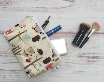 Ready To Ship!!! Make Up Bag; Cosmetic Bag; Nail Polish Bag