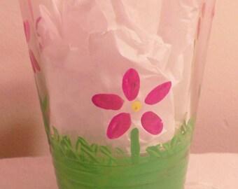 Spring flower cup