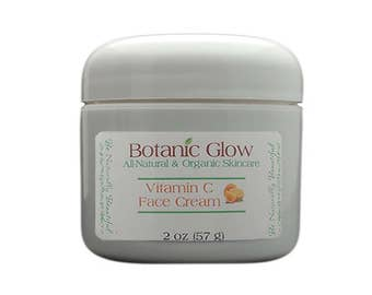 All Natural Vitamin C Face Cream 2 oz - Anti Aging Face Cream - Face Repair Cream - Organic