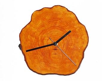 Clock, rustic clock, wall clock, eco friendly clock, wooden clock, wood clock (55)