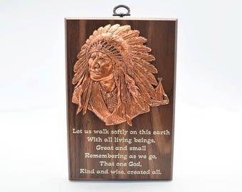 Wisdom Plaque: Great Spirit (549-3)