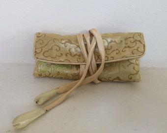 Vintage Silk Pouch