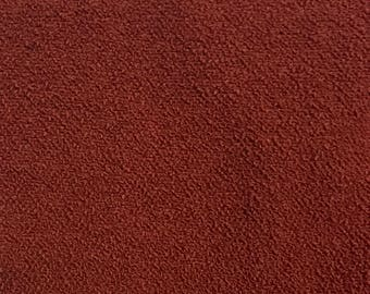 Rust Solid Upholstery Fabric By The Yard
