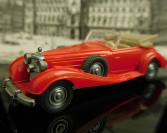 Vintage Toys, Collectible, Miniatur Wiking Car, H0, Mercedes 540 K, Old-timer, Made in Germany / Vintage Wiking Car / Mans gift