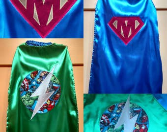 Custom personalisez cape superhero princess cap