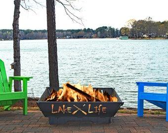 Lake Life Fire Pit
