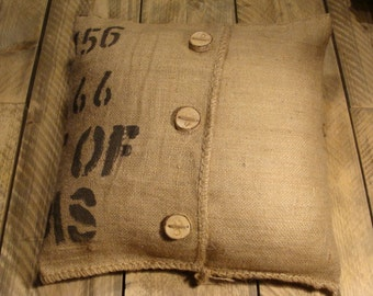 Cushion of original Koffiezak 50x50