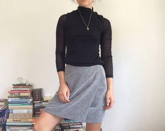 White Noise Wrap Skirt XS