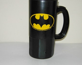 Batman Plastic Mug, Original 1963