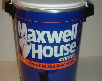 West Bend Maxwell House Advertising Premium Coffee Maker in Box