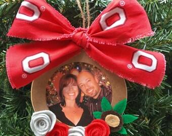 Ohio state ornaments | Etsy