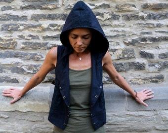 Vest, steampunk, Alternative, Maya Vest, waistcoat, Psy Trance,