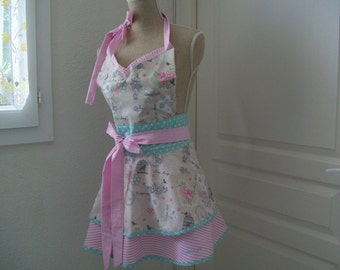 chic and stylish retro apron for women