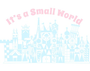 It's a Small World Print