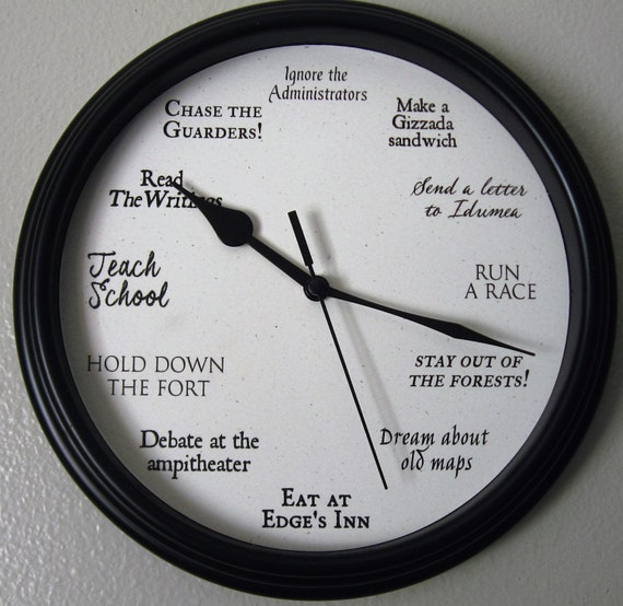 The Forest at the Edge official clock! Idumea clock, Administrator clock, Forest Edge clock