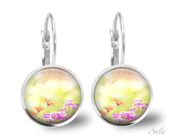 Earrings flowers spring 3
