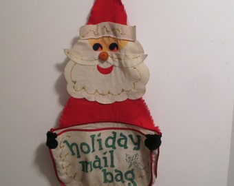 Santa Holiday Mailbag - 1960s