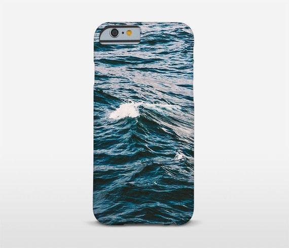Ocean Phone Case, Water Texture, Blue Sea, Photo Phone Case, Slim Phone Cases, Tough Case, iPhone Covers, Samsung Cover