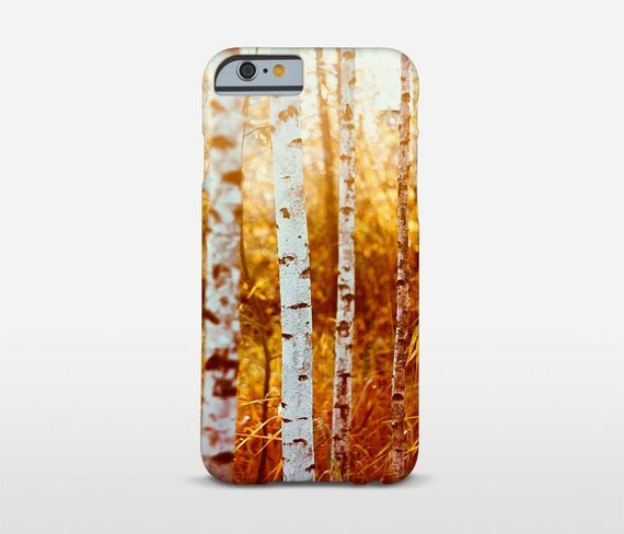 Birch Tree Mobile Case, Nature Photography, Tree Cell Phone Case, iPhone 7 Case, iPhone 6S, Phone Cover, Samsung and other brands