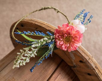 Wedding Crown, Wedding, Hipster Wedding, Bride Crown, boho wedding, flower crown, floral crown, crown, bridal accessories, hairpiece, floral