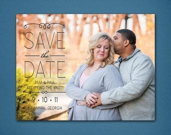 Photo Save the Date • Photograph • Landscape • Simple Save the Date • 5x7 • Save the Date • Matte • Magnet