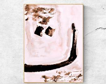 Arabic calligraphy art, Arabic decor, Digital download art, Large Arabic art, Printable Arabic art, Modern Arabic print, Minimalist wall art