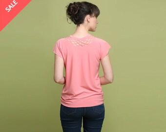 Pastel pink shirt | Etsy