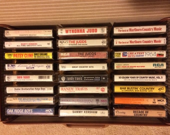 Vintage Country Casette Tapes
