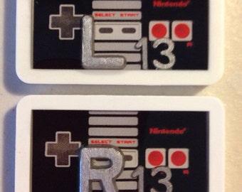 Nintendo NES Controller X-Ray Marker Set
