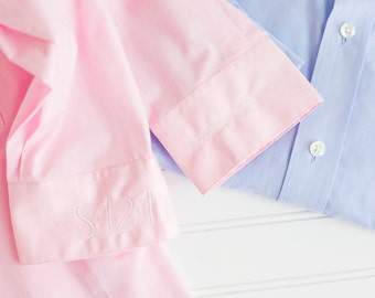 Embroidered Button Downs