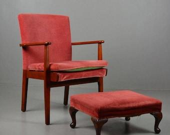 Parker Knoll Open Arm Chair