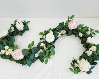 Flower Garland, Floral Garland, Wedding Garland, Silk Flower Garland, Wedding Flower Garland, Silk Flowers, Wedding Flowers, Garland