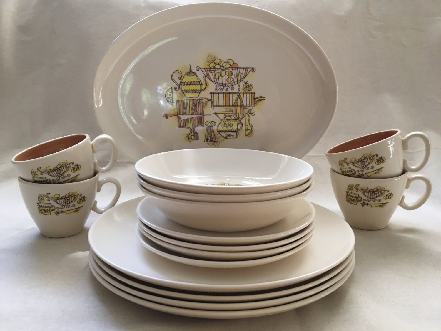 taylor smith taylor dishes mid modern dishes vintage dishes -