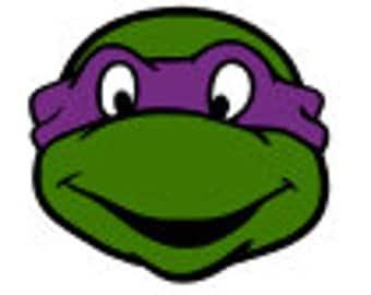 SVG, ninja turtles, turtles, donatello, purple ninja turtle, cut file, printable,  cricut, silhouette, instant download