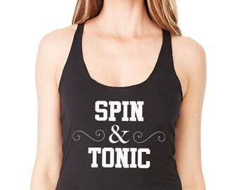 Spin & Tonic Racerback Tank Top