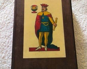 Dal Negro wooden card holder box casket Treviso