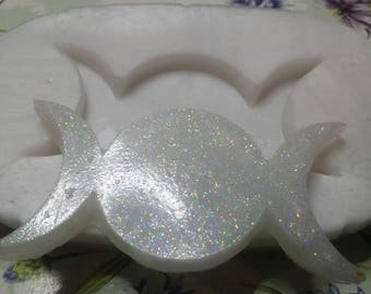 Soft silicone mould TRIPLE MOON