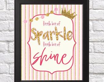 Little bit of sparkle, little bit of shine 8x10 Digital Print