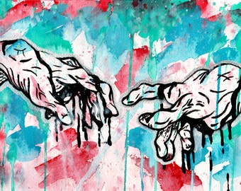 The Touch Watercolor