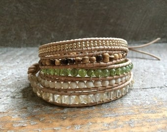 Gigi Beaded Wrap Bracelet