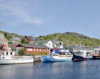 Printable Instant DownloadPetty Harbour Newfoundland Digital Print