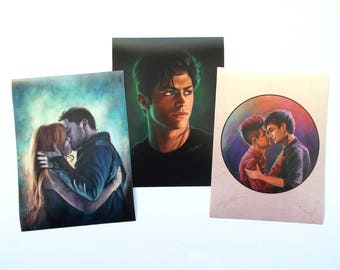 Shadowhunters art prints/bookmarks