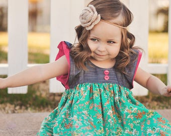 Spring Girls Dress | Ruffle Dress | Easter Dress | Toddler Dress | Toddler Spring | Baby Easter Dress | Baby Ruffle Dress | Girls  Dress